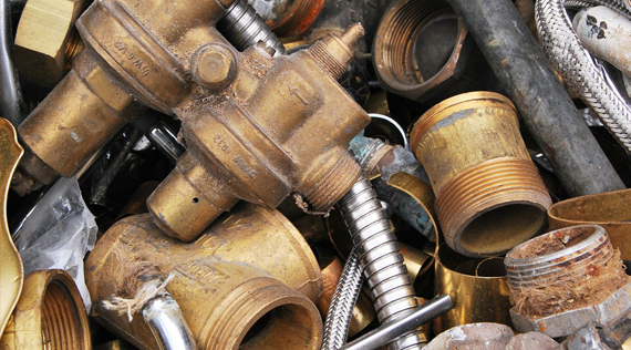Chinese copper scrap prices dropped marginally on 25th Mar, 2015