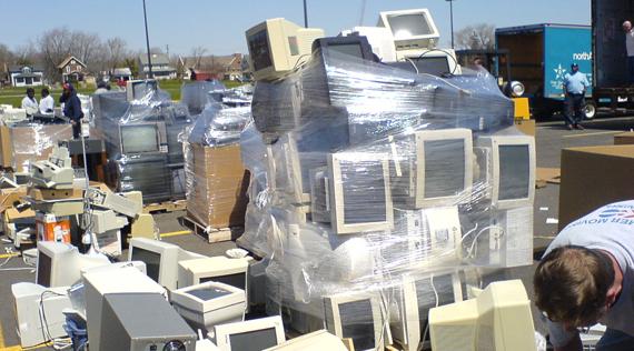 Abandoned e-waste piles threaten Utah local communities