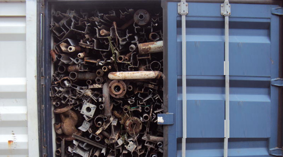 Ferrous scrap buying prices dropped in China