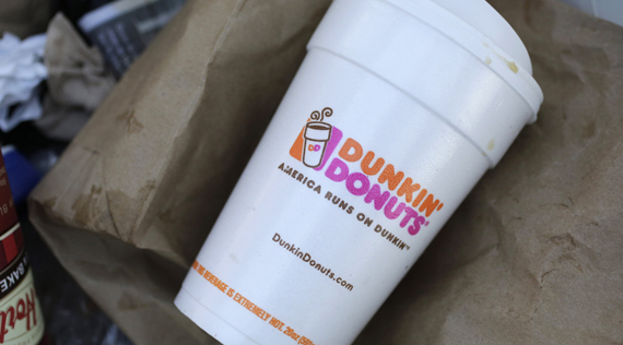 Dunkin' Donuts to develop new single-stream recycling program