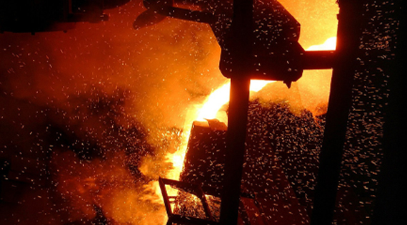 World crude steel production drops further during April '15