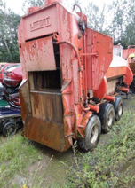 600 Ton Lefort Used Mobile Shear Baler