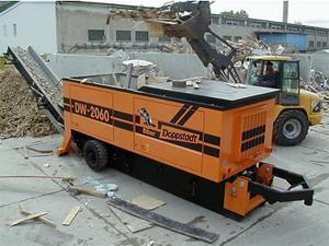 2014 Doppstadt DZ 750(Shredders)