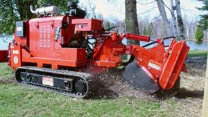 D 76 Track Stump Grinder 260 Grinders Wood Trim Scrap