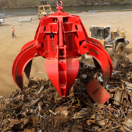Diesel Hydraulic Scrap Grapple
