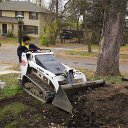 MT55 Mini Track Loader