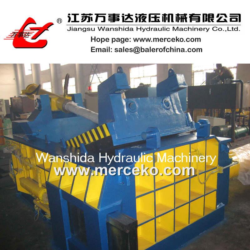 Y83-2000 PLC Control Metal Baling Press Machine