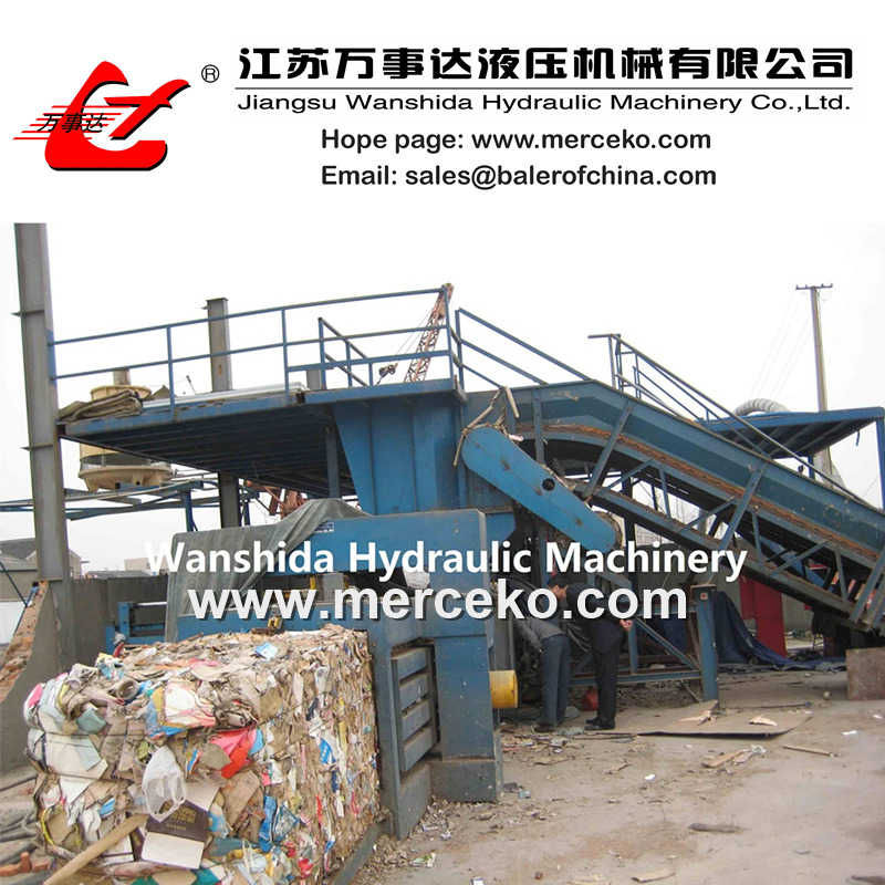 Automatic Horizontal Waste Paper Baler
