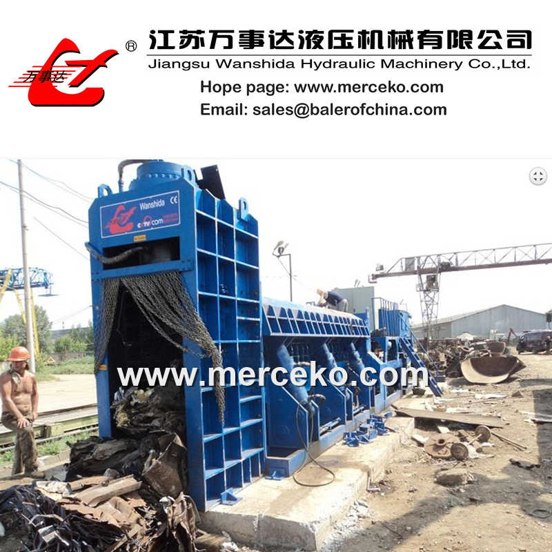 400ton Scrap Metal Baler Shear
