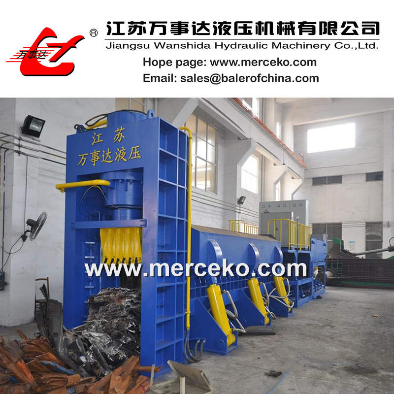 630ton Scrap Metal Shear Baler/Car Baler Shear