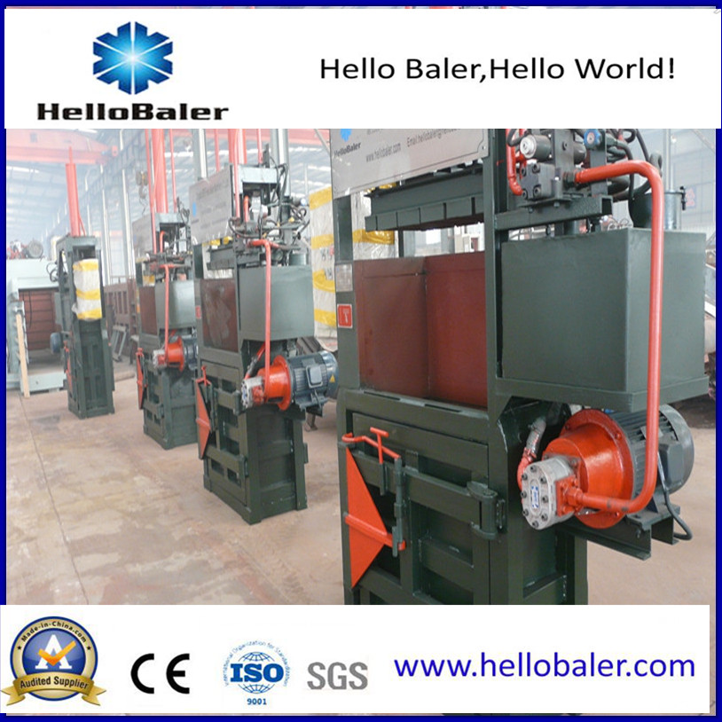 Vertical Baler Machine for Aluminium Tin