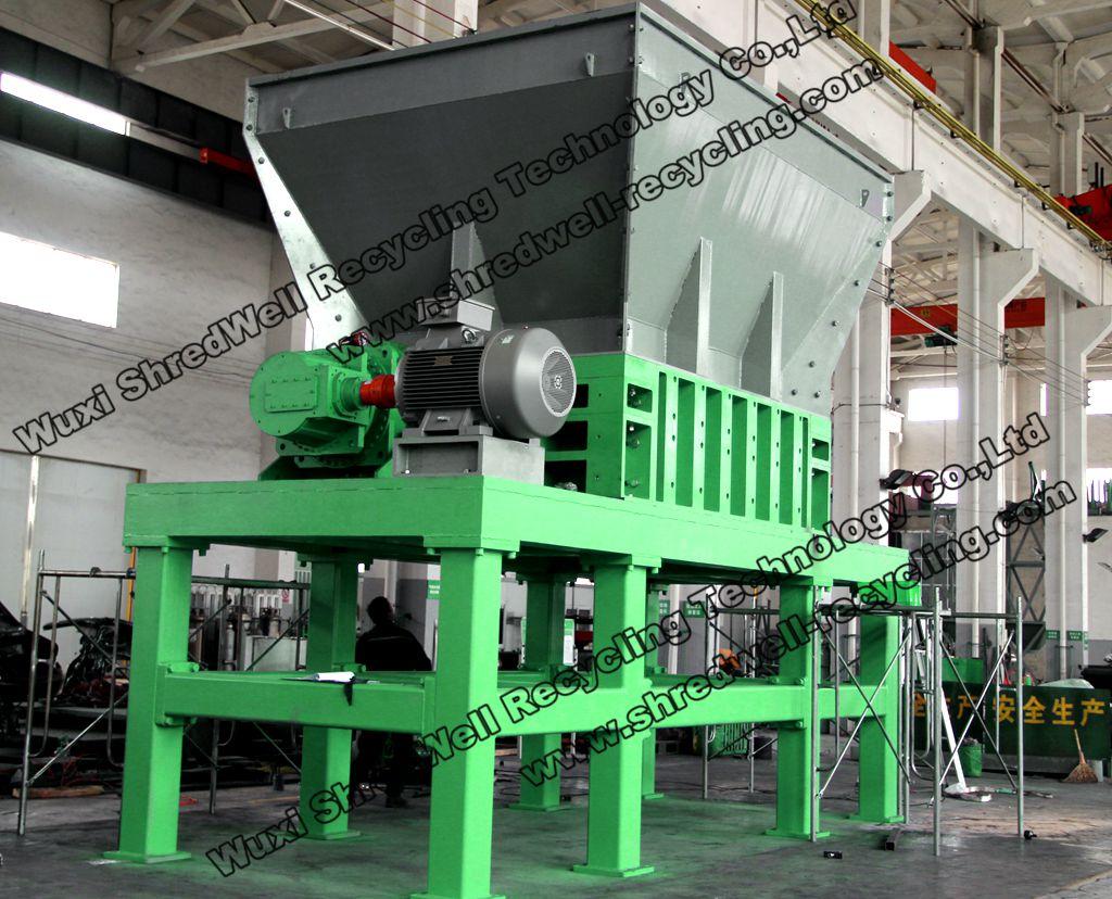 Heavy duty rubust metal & car shredder MS2400