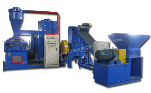 Large Copper Cable Granulator