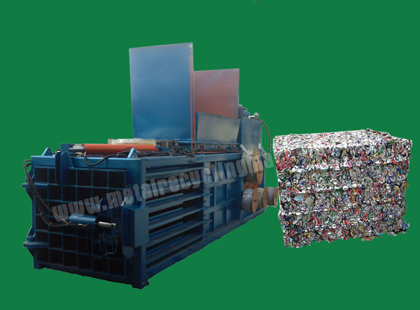 Automatic Scrap Baling Press