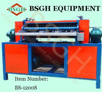 cheap and best quality BS-1200S scrap air conditioning radiator stripper machine made in China