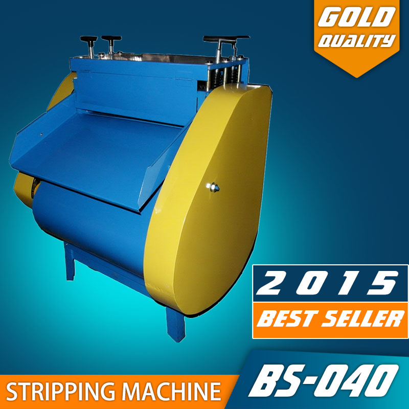BS-040 electrical scrap wire stripper cable peeling recycling machine