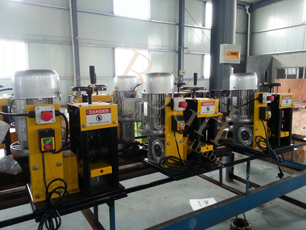 BS-3 electric cable wire stripping machine / cable wire recycling