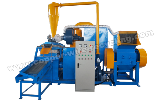 New Generation AMS-600 Copper Cable Granulator
