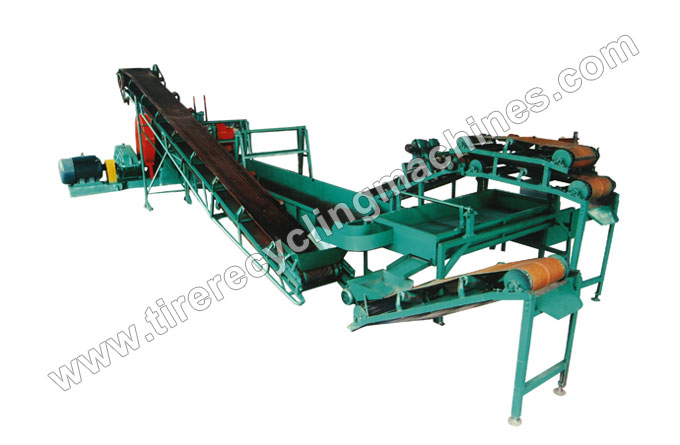 Small Scale Tire Recycling Plant