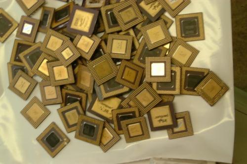 Ceramic CPU Scraps