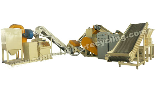 Large Copper Wire/Radiator Recycling Machine