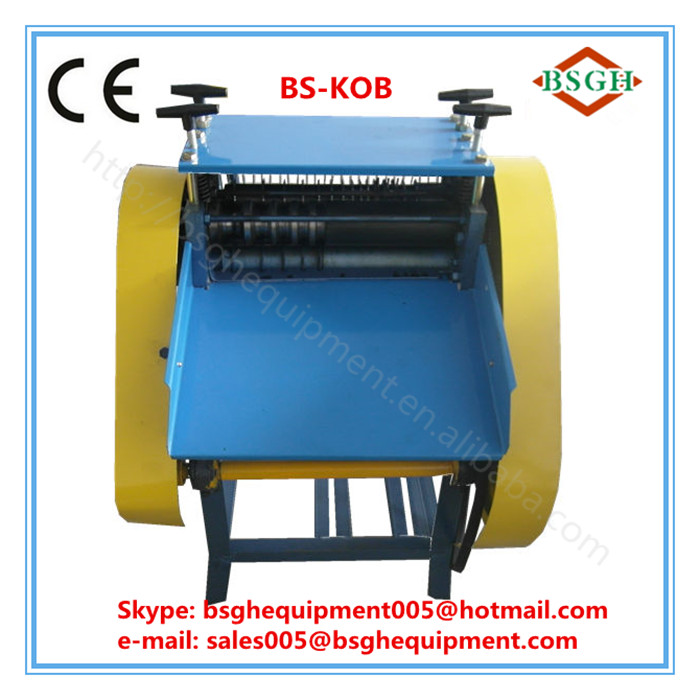 BS-KOB plastic recycling wire stripper machinery