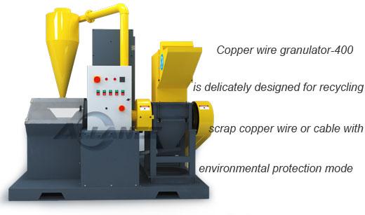 Allanc Copper Wire Granulator 400