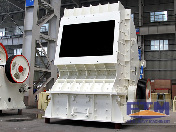 Continuous Study for Performance of Impact Crusher