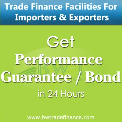 Avail Performance Guarantee Bond for Importers and Exporters