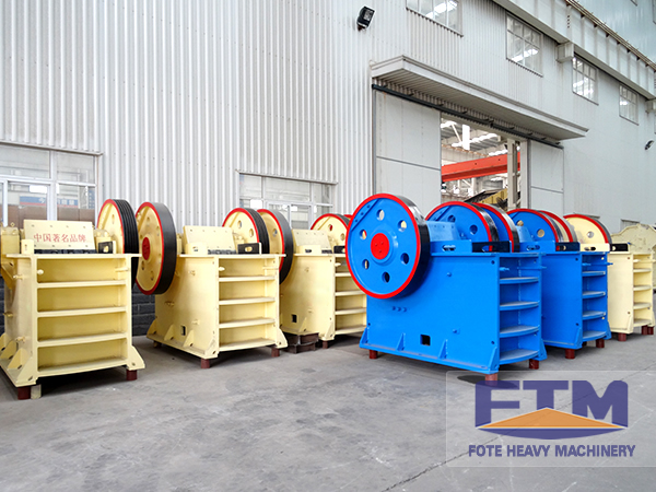Detailed Features of FTM Jaw Crusher Machine