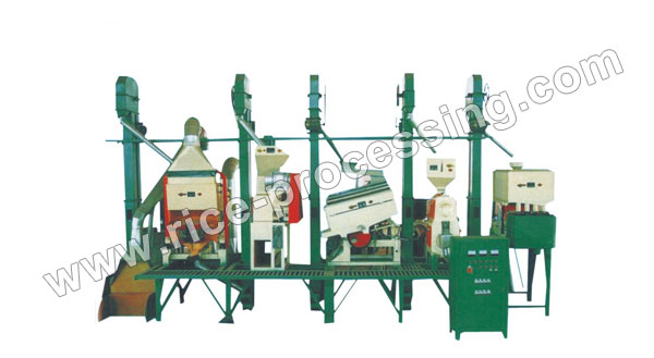20-30T/D Integrated Rice Milling Equipment