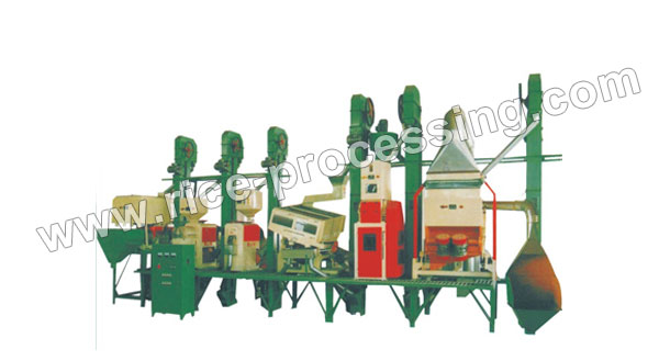 40-50T/D Integrated Rice Milling Equipment