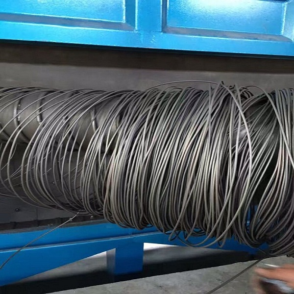 Wire Rod Coil Shot Blasting Machine