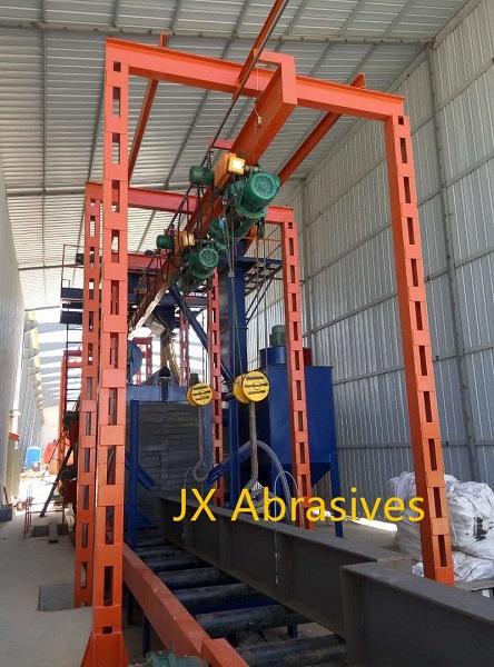Overhead Conveyor Shot Blasting Machine with Hook