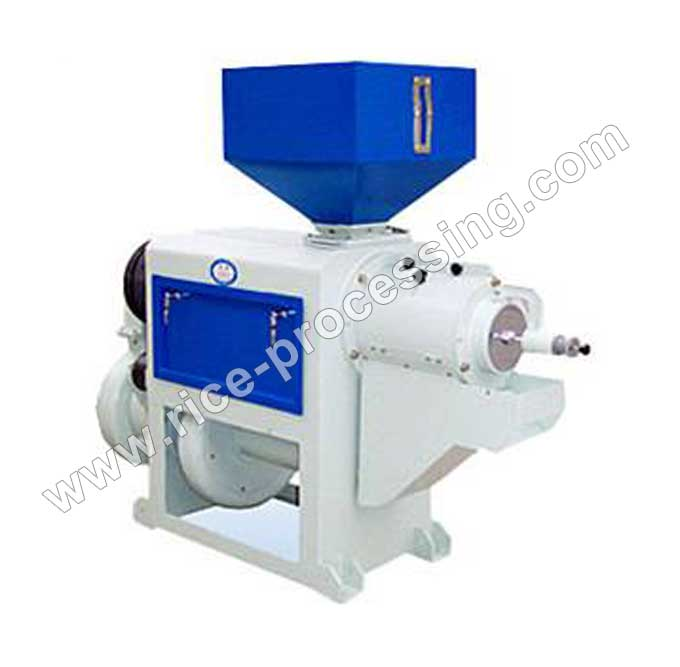 NF Series Air-Spraying Iron Roller Rice Milling Equipment