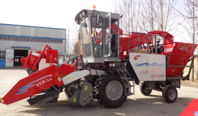 4YZ-3A Self-propelled Corn Combine Harvester