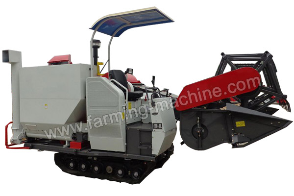 Large Combine Rice Harvester