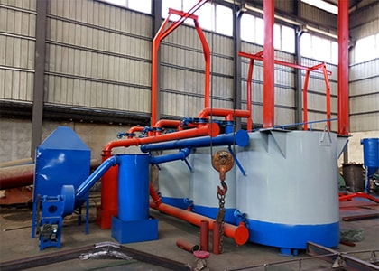 Hoist Type Carbonization Furnace