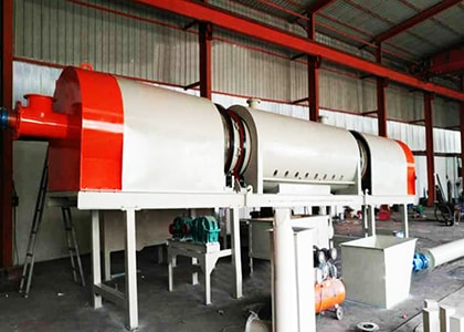 Continuous Type Carbonization Furnace