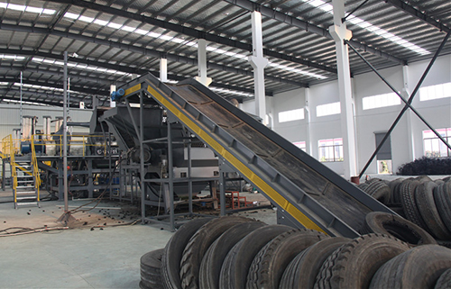 Fully-Automatic Tyre Recycling Line