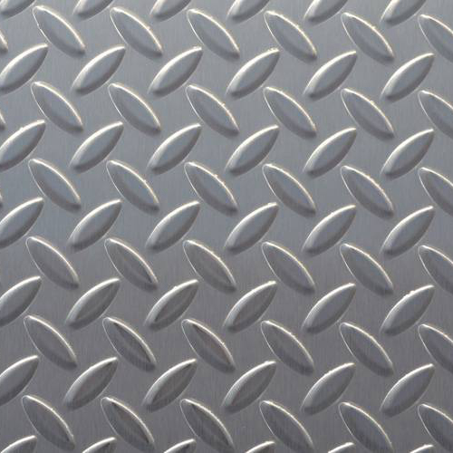 Checked Stainless Steel Plate -Anti Skid Stainless Steel Plate 304 316L