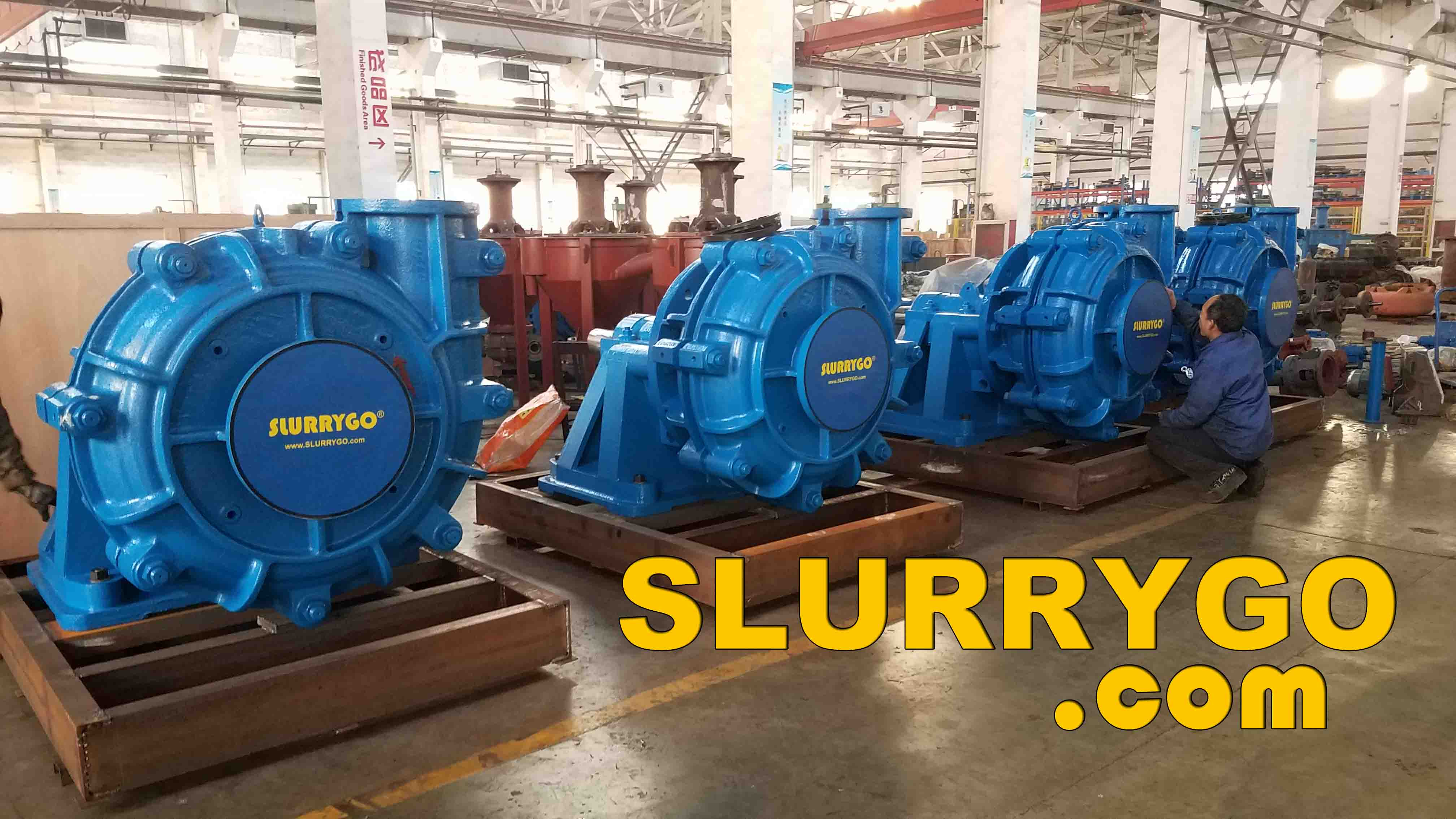www.SLURRYGO.com alternative WARMAN slurry pumps and spare parts