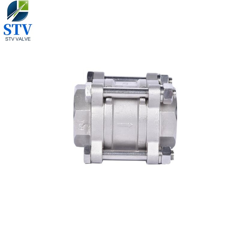 3 Piece Stainless Steel Disc Check Valve