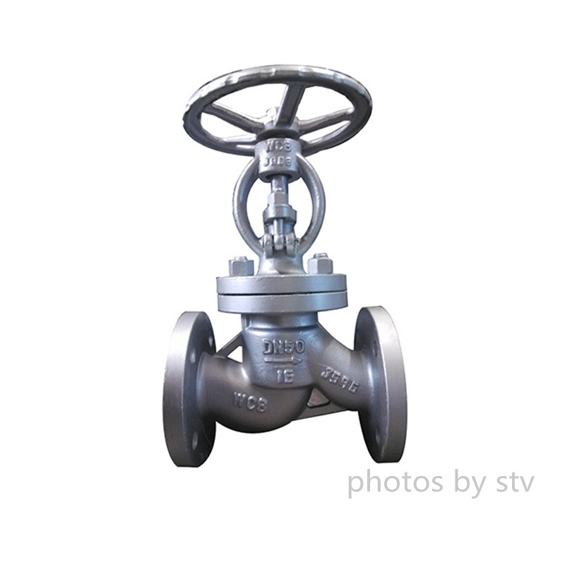 CS DIN 3356 Globe Valve, Raised Face, DN50, PN16