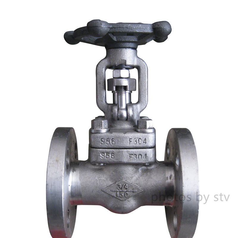 F304 Integral Flange Forged Gate Valve,DN20, 150LB,API 602