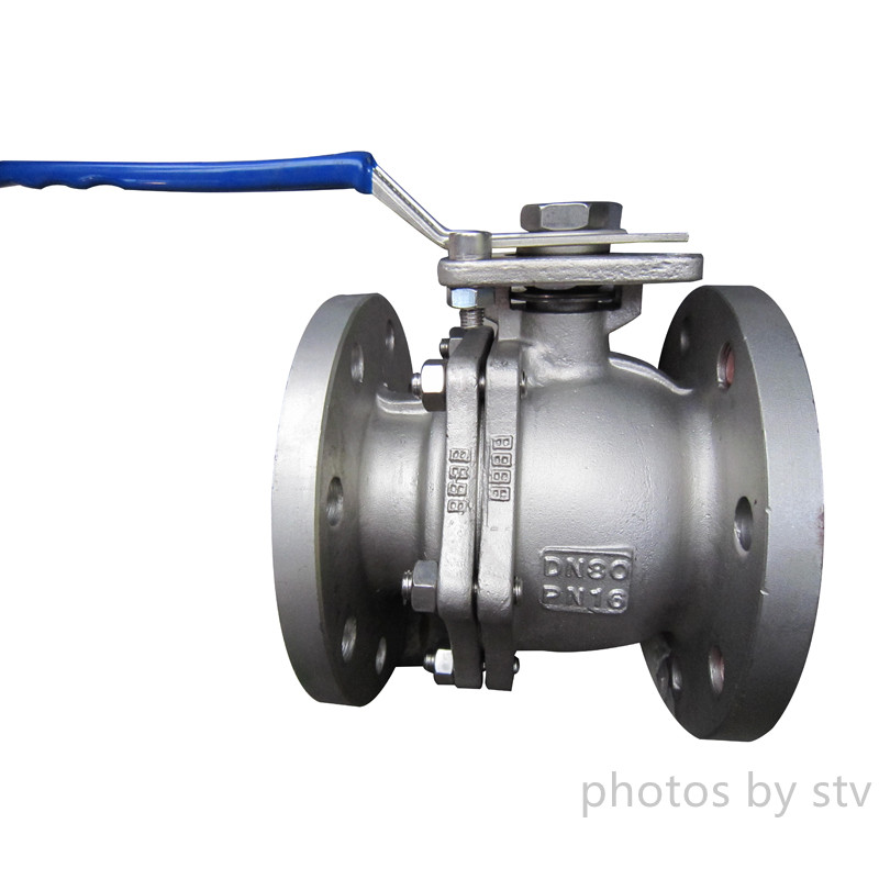 CF8 Investment Casting Type Ball Valves ,with PN16,150LB,JIS10KCF8 Investment Casting Type Ball Valv