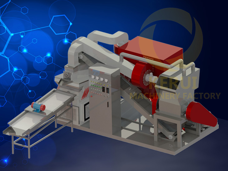 KR600S Copper Cable Wire Recycling Machine