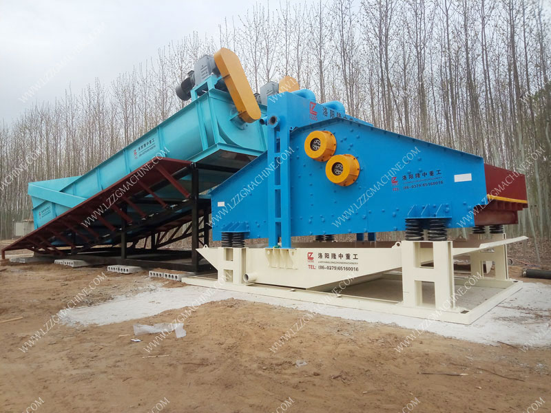 Screw classifier for beneficiation easy to operate