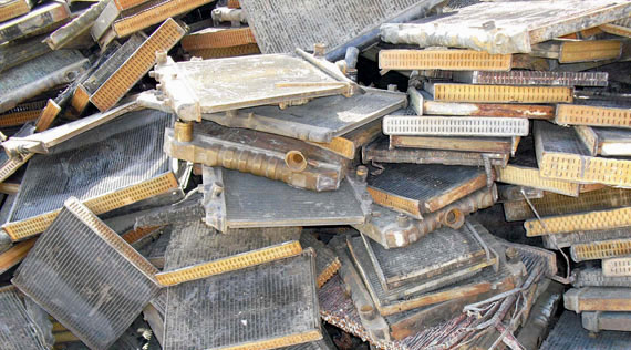 Copper / Aluminum Radiator Scrap - Where to Sell, Prices