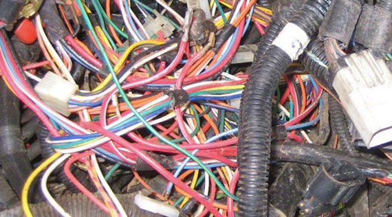 scrap wire harness 20 pin wire harness wire wire harness - where to sell, prices, grades, isri specs #1